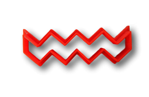 Chevron Cookie Cutter - Choose Your Size - Arbi Design - CookieCutz - 1