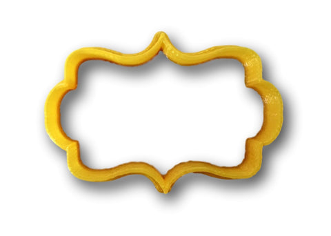 Plaque shape 2 Cookie Cutter - Arbi Design - CookieCutz - 1