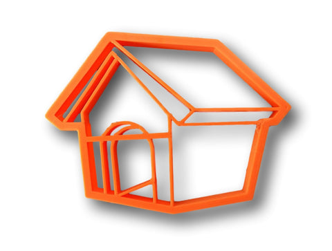 Dog House Cookie Cutter - Pet House , Bird House Cookie Cutter - Arbi Design - CookieCutz - 1