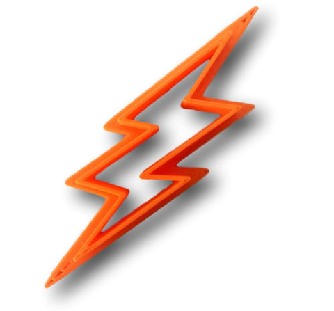 Lighting Bolt Cookie Cutter - Arbi Design - CookieCutz - 1
