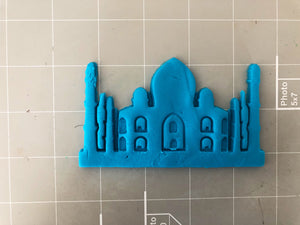 Taj Mahal Cookie Cutter