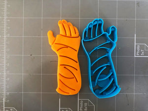 Arm Cast Cookie Cutter