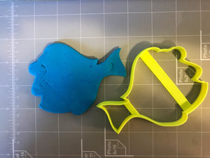 Blue Tang Fish Cookie Cutter
