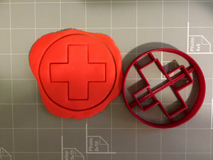 Red Cross Cookie Cutter - Arbi Design - CookieCutz - 2