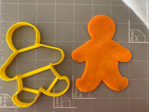 Gingerbread Cookie Cutter ( Outline )