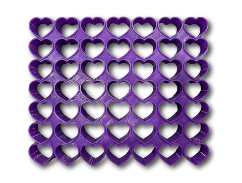 "49x0.5"" Mini Size Heart Multi Cutter"