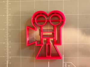 Cinema Camera Cookie Cutter