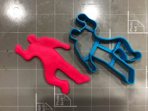Police Set Cookie Cutters (Set of 4 )