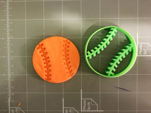 Baseball Cookie Cutter Set (Ball and Stadium)
