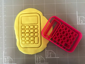 Calculator Cookie Cutter