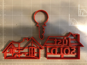Real estate Cookie Cutters (Set of 3)