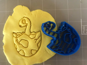 Baby Dinosaur Inside Egg Cookie Cutter