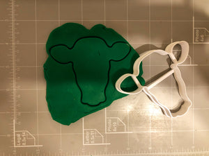 Cow Head cookie cutter