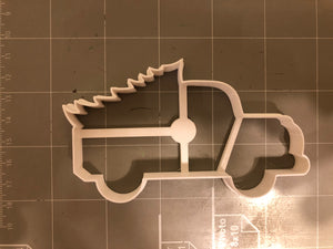 Truck Carrying Tree cookie cutter