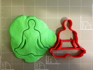 Yoga Cookie Cutter - Arbi Design - CookieCutz - 2