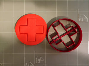 Red Cross Cookie Cutter - Arbi Design - CookieCutz - 3
