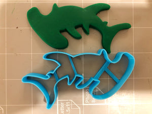 Hammerhead Shark cookie cutter