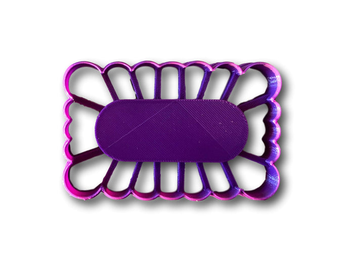 Thumbprint Rectangle Cookie Cutter