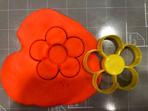 Thumbprint Flower Cookie Cutter