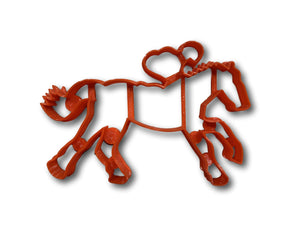 Horse Riding cookie cutter