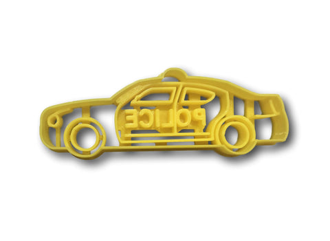 Police Car Cookie Cutter
