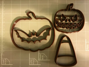 Halloween Cookie Cutters (Set of 4)