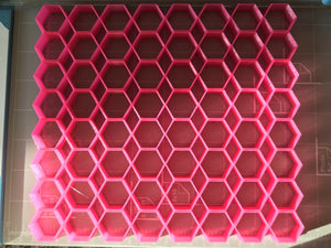 "64x1"" Hexagon/Honeycomb Multicuter"