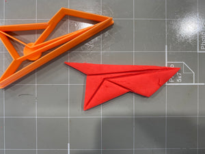 Paper Airplane Cookie Cutter