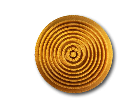 Spiral Circle Embosser/Stamp - Arbi Design - CookieCutz - 1