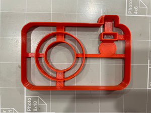 Camera Cookie Cutter
