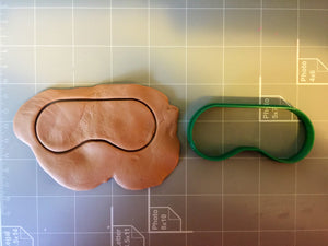 Spa Mask Cookie Cutter - Arbi Design - CookieCutz - 3