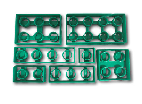 Playing Bricks Cookie Cutters Set