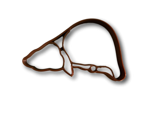 Liver Anatomy Cookie Cutter