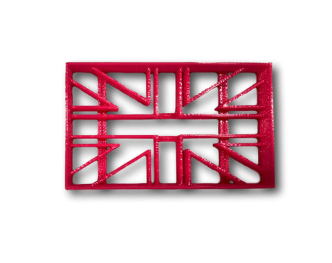 British Flag Cookie Cutter