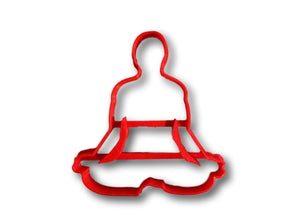 Yoga Meditation Cookie Cutter