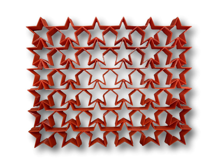 "Star Shape multi cutter ( 1.25""x36 Star Shapes ) multicutter"