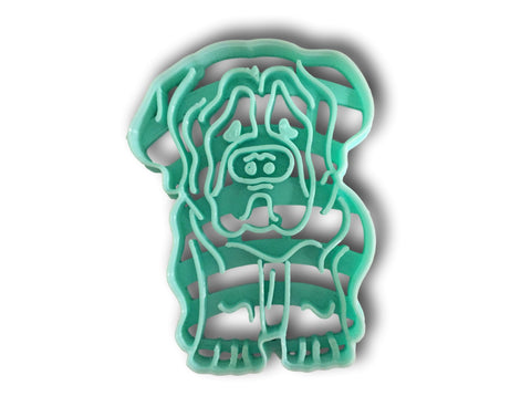 Saint Bernard Dog Cookie Cutter - Arbi Design - CookieCutz - 1