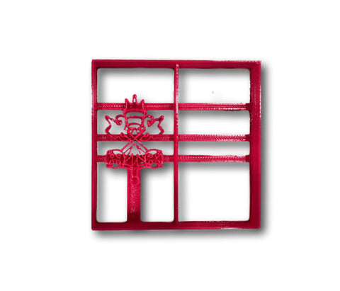 Vatican City Flag Cookie Cutter