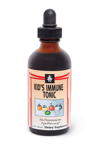 Kid's Immune Tonic by Six Persimmons Apothecary. ALL NATURAL and HERBAL remedy. Optimal Immune Support and Defense for Children