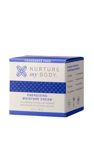 Energizing Moisture Cream Fragrance Free - 100% Organic and All Natural