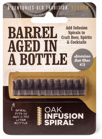 Barrel Aged In a Bottle - Oak Infusion Spiral