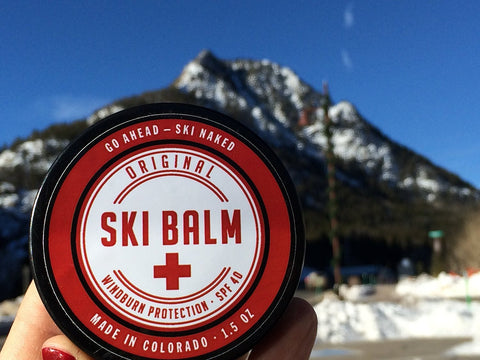 Original Ski Balm - The BEST Natural Windburn and Sunburn Protection for Wintertime Sports