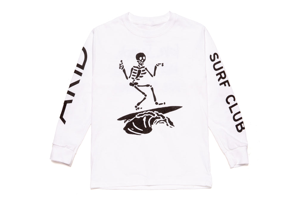 SURFIN' LONG SLEEVE T-SHIRT
