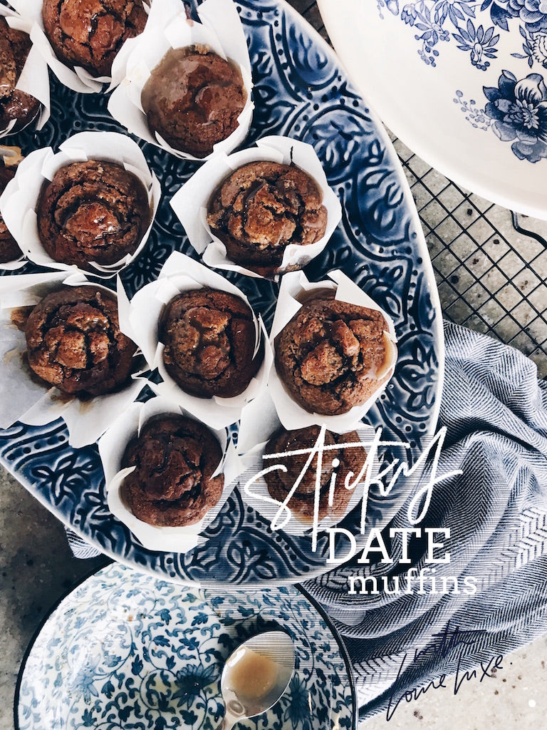 Louie's HEALTHIER Sticky Date Muffins