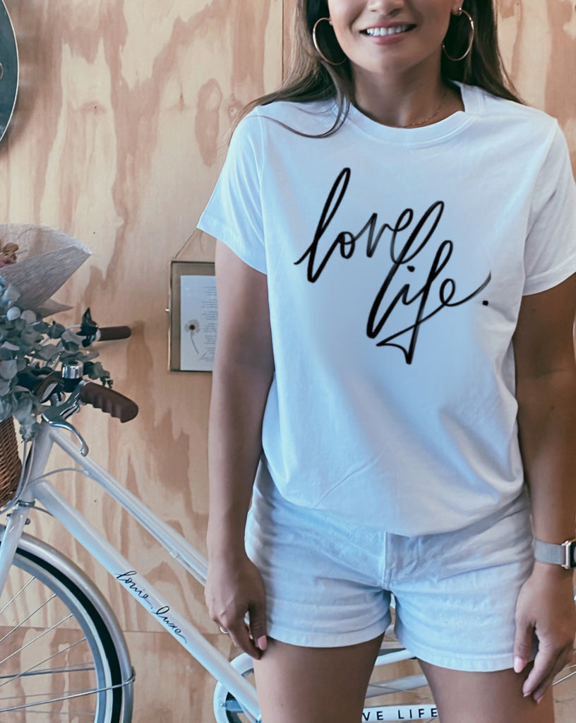 Love Life. - Single Line | TEES