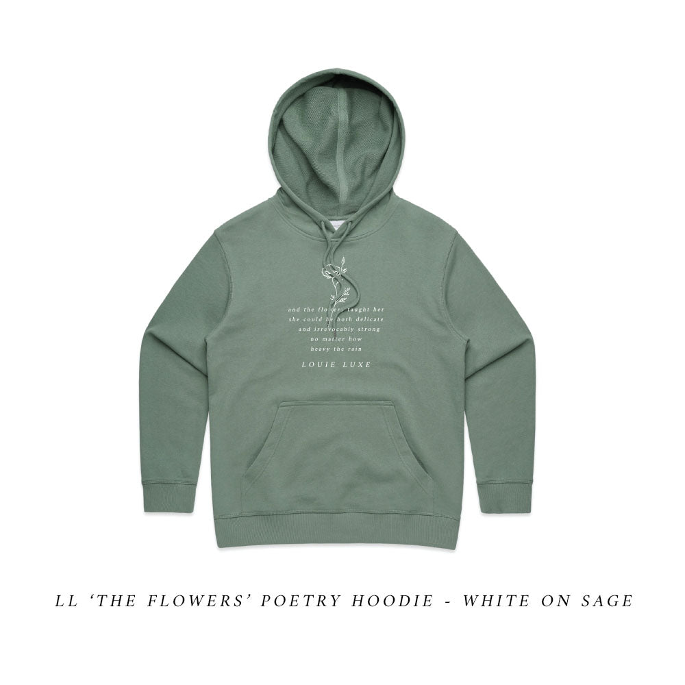 LL Poetry Hoodie | The Flowers