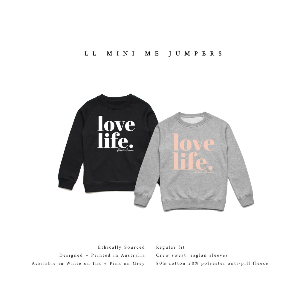 LL Mini Me Jumper | Love Life.