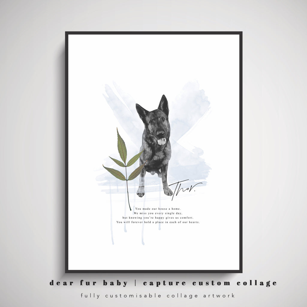 FUR BABY | COLLAGE PRINT
