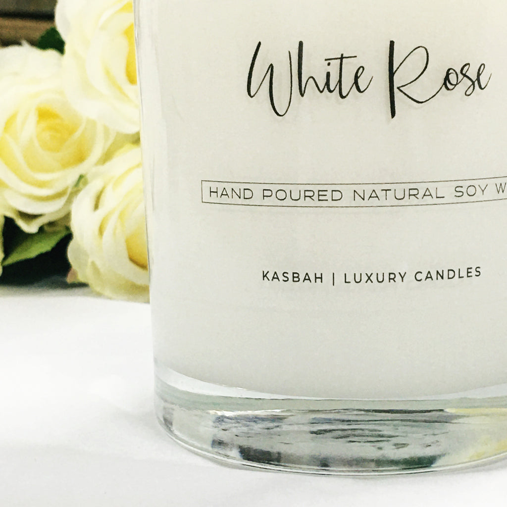 Soy Candle - White Rose
