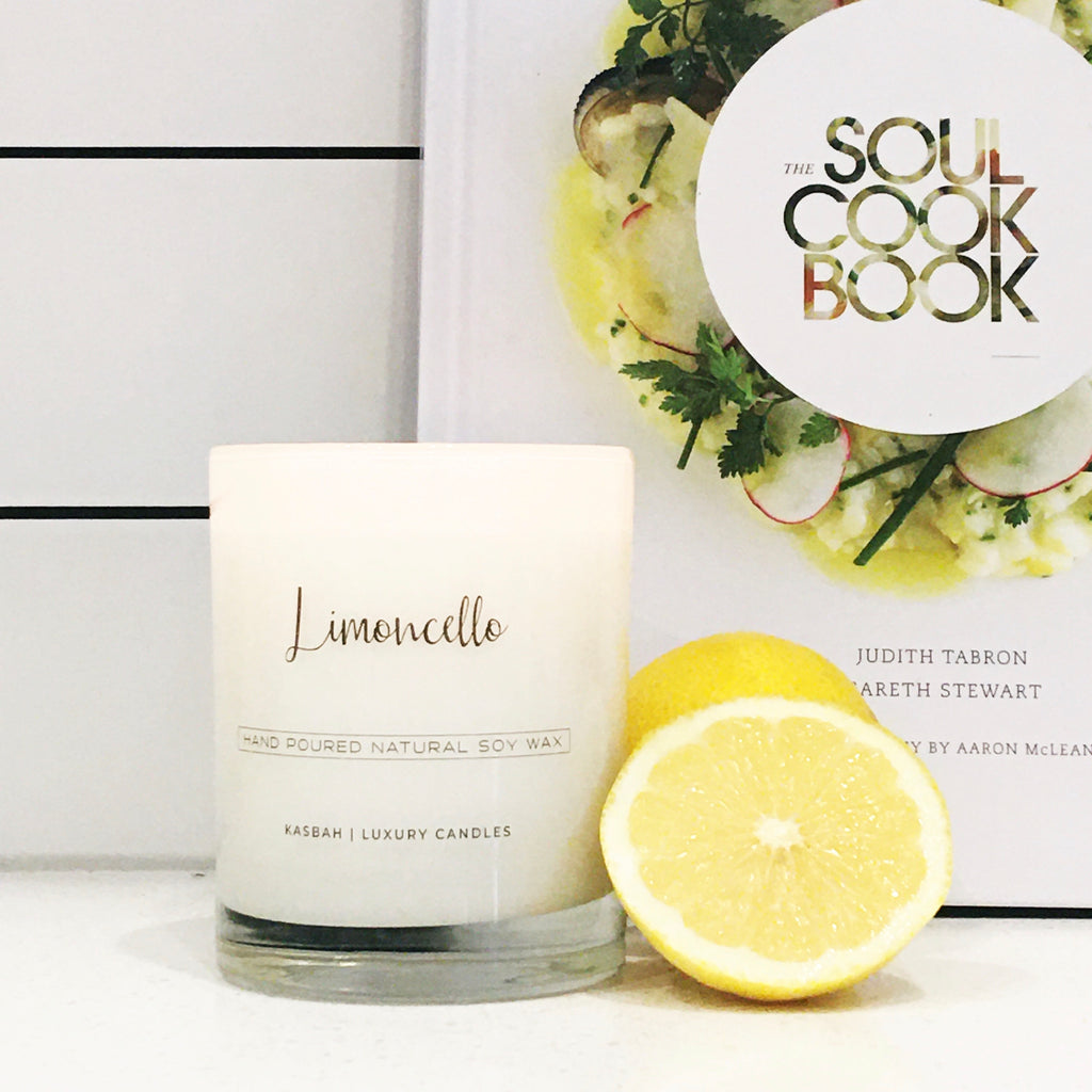 Soy Candle - Limoncello